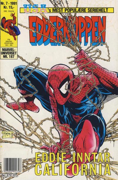 Cover for Edderkoppen (Semic, 1984 series) #7/1991
