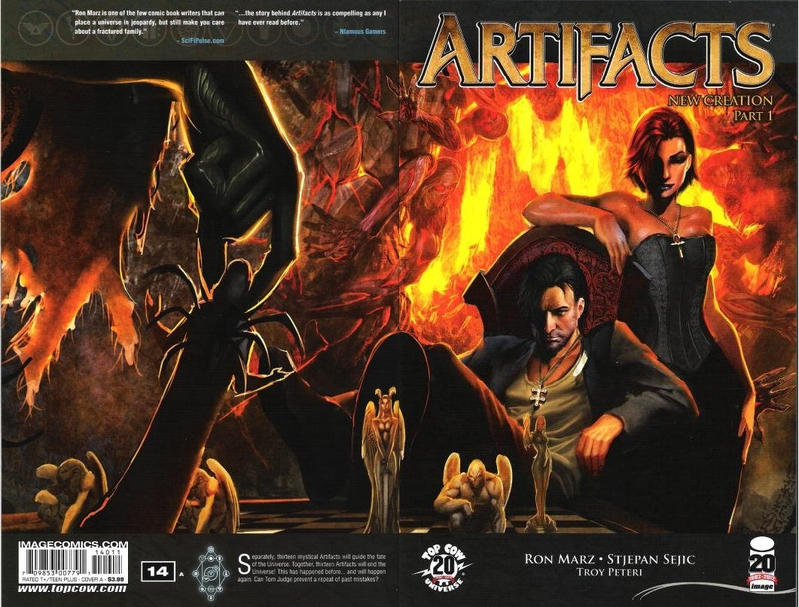Cover for Artifacts (Image, 2010 series) #14