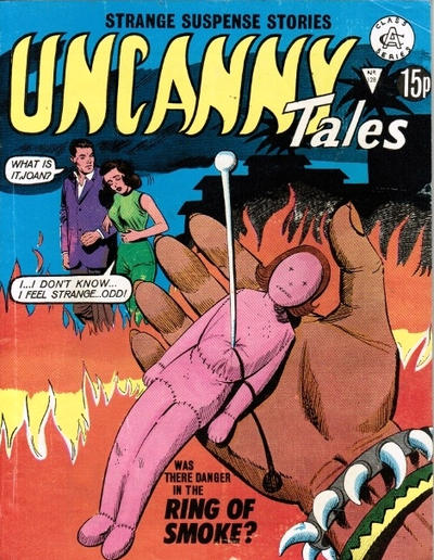 Cover for Uncanny Tales (Alan Class, 1963 series) #128