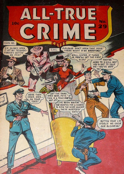 Cover for All True Crime Cases Comics (Bell Features, 1948 series) #29