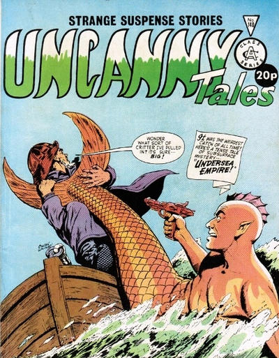 Cover for Uncanny Tales (Alan Class, 1963 series) #140