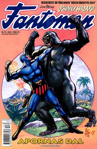 Cover for Fantomen (Egmont, 1997 series) #12/2012