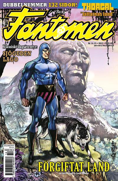 Cover for Fantomen (Egmont, 1997 series) #14-15/2012