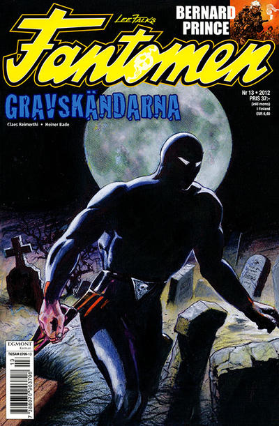 Cover for Fantomen (Egmont, 1997 series) #13/2012