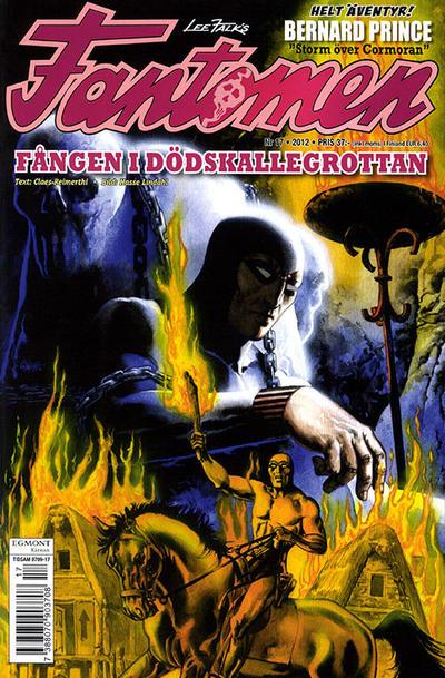 Cover for Fantomen (Egmont, 1997 series) #17/2012