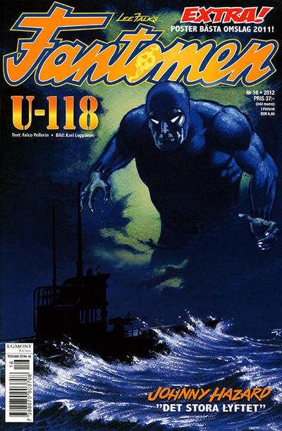 Cover for Fantomen (Egmont, 1997 series) #16/2012
