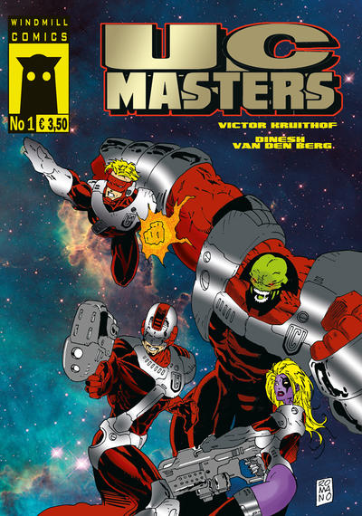Cover for UC Masters (Windmill Comics, 2012 series) #1
