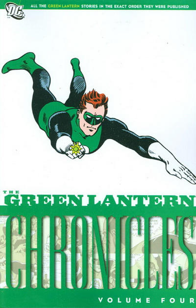 Cover for The Green Lantern Chronicles (DC, 2009 series) #4