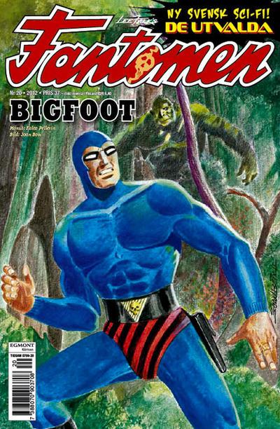 Cover for Fantomen (Egmont, 1997 series) #20/2012