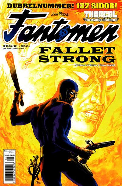 Cover for Fantomen (Egmont, 1997 series) #25-26/2011