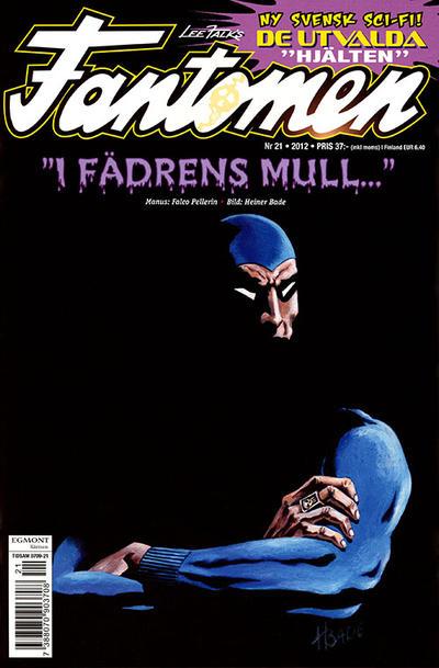 Cover for Fantomen (Egmont, 1997 series) #21/2012