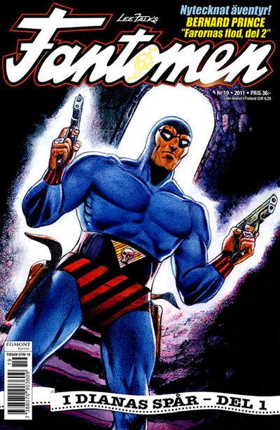 Cover for Fantomen (Egmont, 1997 series) #19/2011