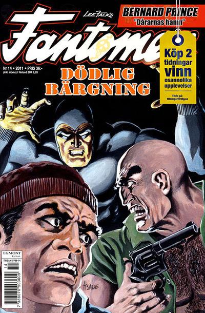Cover for Fantomen (Egmont, 1997 series) #14/2011
