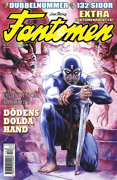 Cover for Fantomen (Egmont, 1997 series) #12-13/2011
