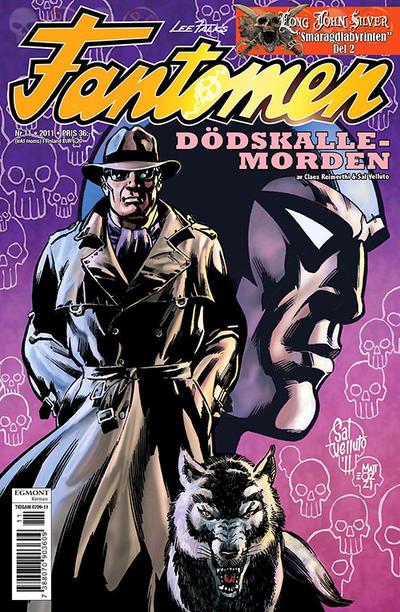 Cover for Fantomen (Egmont, 1997 series) #11/2011