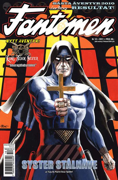 Cover for Fantomen (Egmont, 1997 series) #10/2011