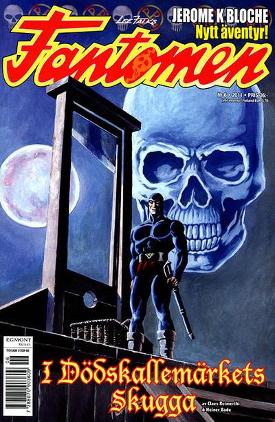 Cover for Fantomen (Egmont, 1997 series) #6/2011