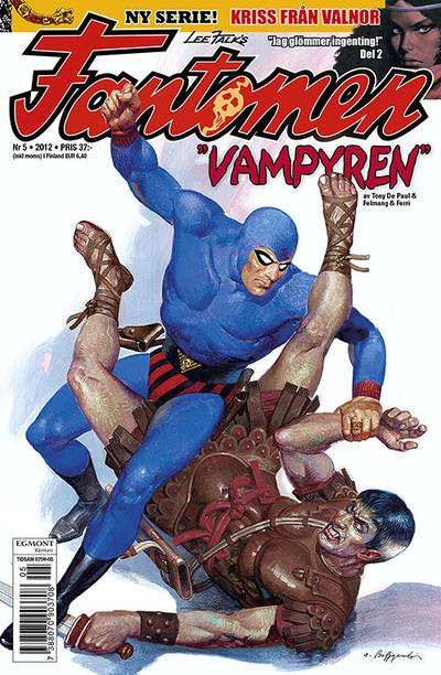 Cover for Fantomen (Egmont, 1997 series) #5/2012