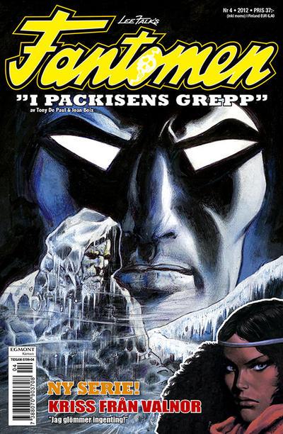 Cover for Fantomen (Egmont, 1997 series) #4/2012