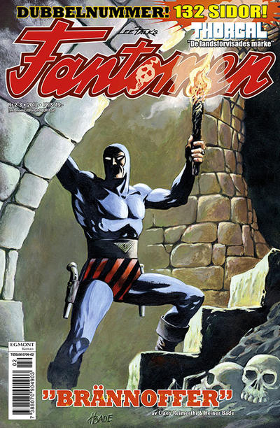 Cover for Fantomen (Egmont, 1997 series) #2-3/2012