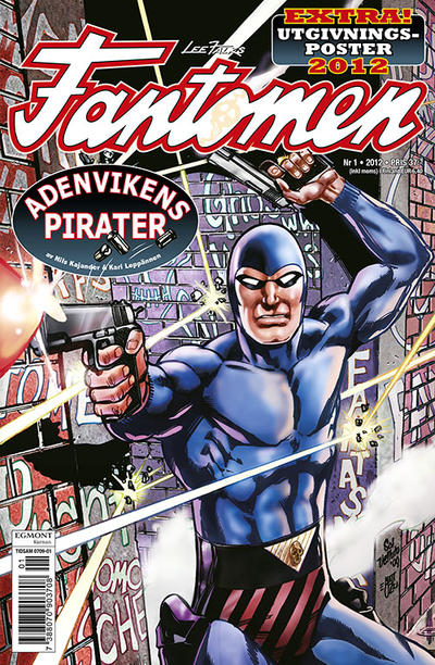 Cover for Fantomen (Egmont, 1997 series) #1/2012