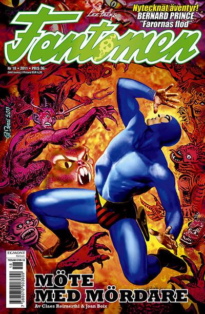 Cover for Fantomen (Egmont, 1997 series) #18/2011