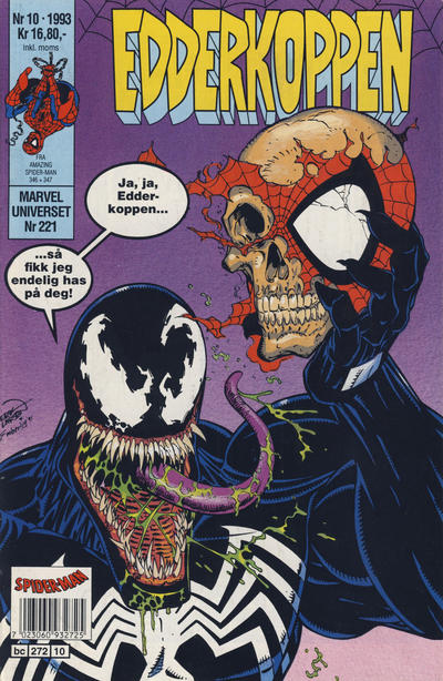 Cover for Edderkoppen (Semic, 1984 series) #10/1993