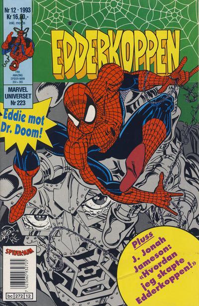 Cover for Edderkoppen (Semic, 1984 series) #12/1993