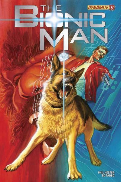 Cover for Bionic Man (Dynamite Entertainment, 2011 series) #13 [Virgin art variant]