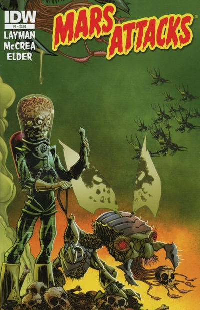 Cover for Mars Attacks (IDW, 2012 series) #4