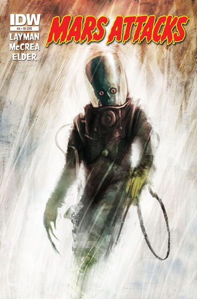 Cover for Mars Attacks (IDW, 2012 series) #4 [Retailer Incentive]