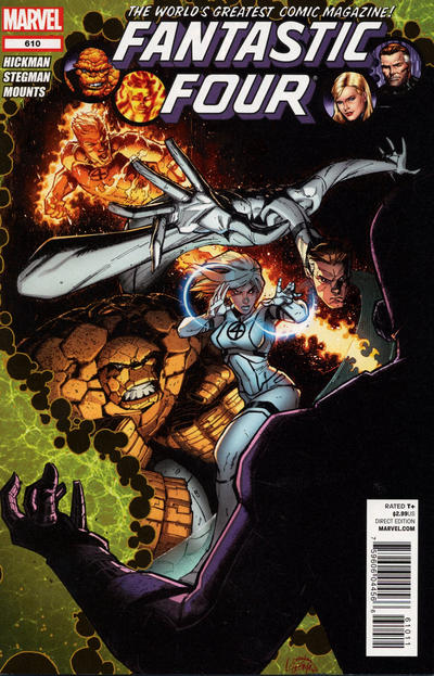 Cover for Fantastic Four (Marvel, 2012 series) #610