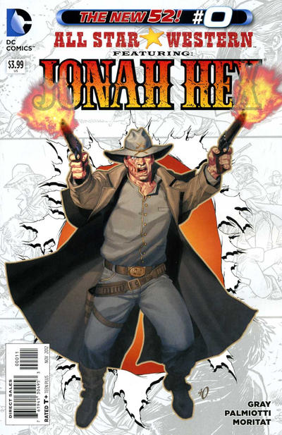 Cover for All Star Western (DC, 2011 series) #0