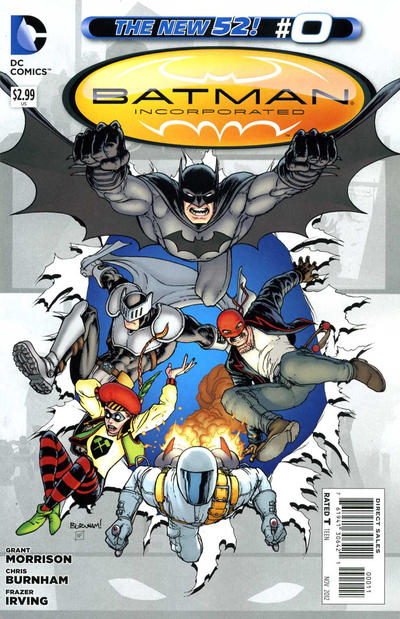 Cover for Batman Incorporated (DC, 2012 series) #0 [Chris Burnham Cover]