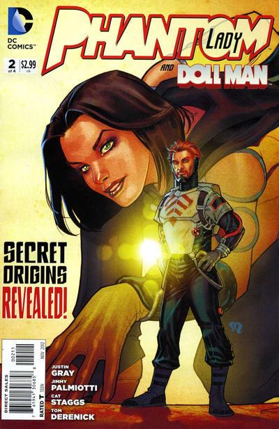 Cover for Phantom Lady (DC, 2012 series) #2