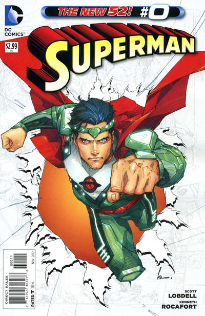 Cover for Superman (DC, 2011 series) #0