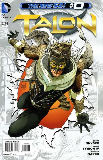 Cover for Talon (DC, 2012 series) #0
