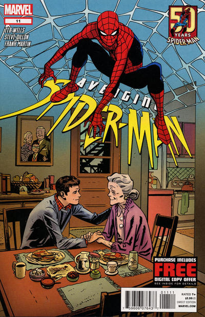 Cover for Avenging Spider-Man (Marvel, 2012 series) #11