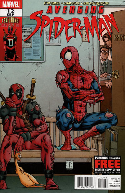 Cover for Avenging Spider-Man (Marvel, 2012 series) #12