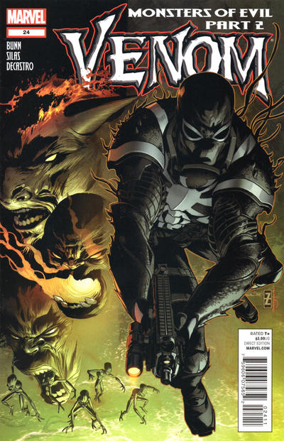 Cover for Venom (Marvel, 2011 series) #24