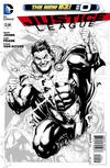 Cover Thumbnail for Justice League (2011 series) #0 [Incentive Gary Frank Sketch Cover]