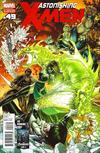 Cover for Astonishing X-Men (Marvel, 2004 series) #49 [2nd Printing Cover Variant]