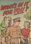 Cover for What's in It for You? (Harvey, 1950 ? series)