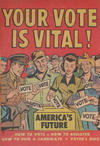 Cover for Your Vote Is Vital! (Harvey, 1952 series)
