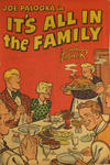 Cover for Joe Palooka in It's All in the Family (Armed Forces Information and Education Division, Office of the Secretary of Defense, 1951 series)