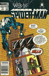Cover for Web of Spider-Man (Marvel, 1985 series) #12 [Newsstand]