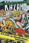 Cover for Ka-Zar (Atlantic Forlag, 1983 series) #1/1983