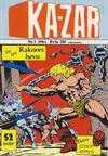 Cover for Ka-Zar (Atlantic Forlag, 1983 series) #3/1984