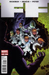 Cover for FF (Marvel, 2011 series) #22
