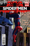 Cover for Spider-Men (Marvel, 2012 series) #5 [Travis Charest Variant Cover]